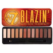 W7 Blazin Eyeshadow Palette - Shimmer Matte Eyes Colour Shadow Nudes Bronze Face