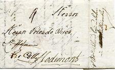 Bohëme et Moravie : 1787 - Pli de PRAG pour Hodimont, acheminé par Nürnberg