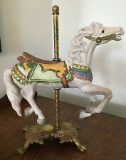 The American Carousel By Tobin Fraley White Horse Limited Edition