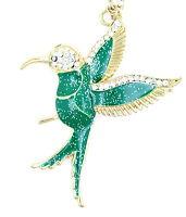 Vintage coquille d'ormeau et cristal collier papillon