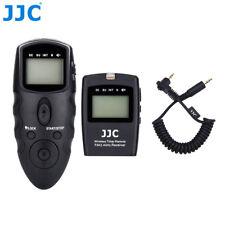 JJC Wireless Timer Remote Control for Pentax K7 K5 K3 II K1 Mark II K500 645D