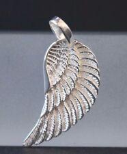 Flügel Anhänger Engelsflügel - 925 Sterling Silber - Silberanhänger Engelsrufer