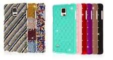 For Samsung Galaxy Note 4 GLITZ Diamond Jewel Crystal Hard Case Cover Protectors