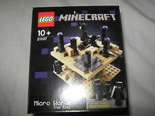 Lego 21107 Minecraft Micro World The End new and sealed retired set