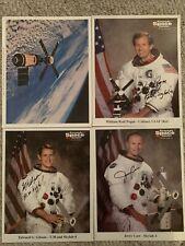 Carr, Pogue, Gibson Nasa astronaut Skylab 4 Crew hand signed autographed 8x10s