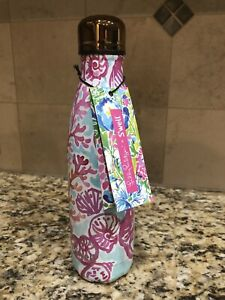 New LILLY PULITZER x Swell S'well Shell We Dance Water Bottle 2018