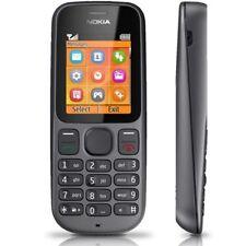 Neuf Nokia 100 Noir Téléphone Portable Débloqué UK Stock