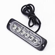Car 6 LED Daytime Running Light DRL Daylight Fog Lamp Day Lights DC 12V-24V