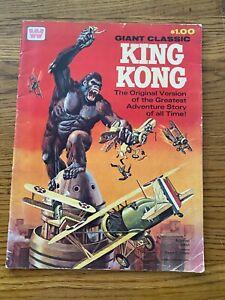 GIANT CLASSIC KING KONG  - Whitman (1968) 34 x 26cm   Very Rare!