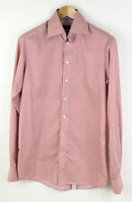 ETON Men Contemporary Fit Extra Long Sleeve Formal Shirt Size 15 38 AFZ688