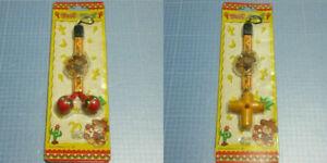 Samba De Amigo Maracas Whistle Strap Set SEGA Dreamcast Collectors Item