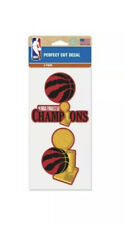 Toronto Raptors 2019 NBA Finals Champions WinCraft Perfect Cut Decal Set (2 PK)