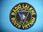 VIETNAM WAR PATCH, US ARMY SIGNAL RADIO LAI KHE TEAM