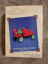 Hallmark 2002 Keepsake Ornament 1928 Jingle Bell Express Kiddie Car Classic Lnib