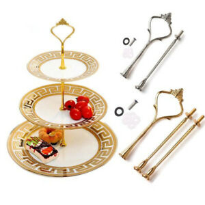 3 / 2   Wedding Cake Stand Bamboo Tapas Dishes Tiered Serving Cake Display Stand