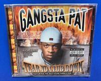 Gangsta Pat – Tear Yo Club Down | CD Album 1999 Memphis Tennessee Rap SEALED