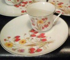 Vintage Strawberry Garden Tea Cup & Snack Plate Set Saltera 1976 Himark, Japan