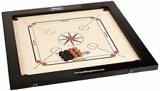 Surco Ellora Youth Carrom Board with Coins and Striker, 4mm Complete Set