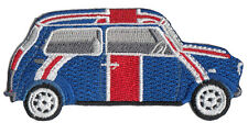 Union Jack classic Mini cooper embroidered patch