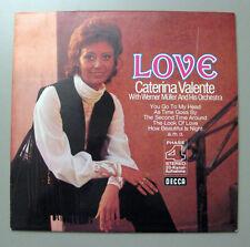 Caterina Valente & Werner Müller & His Orchestra - Love  DECCA Lp   > Promo<