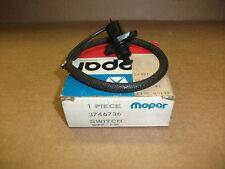 NOS Mopar door ajar switch 1977-78 Aspen Volare, C-body 3746736