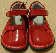 NWT Target Baby Girls Red Patent Leather Mary Janes Shoes Size 4 or Size 5