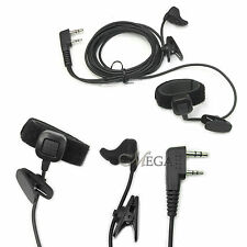 409SHOP PRoEar vibration baofeng puxing Kenwood earpiece headset headphone