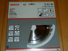 BOSCH TCT CIRCULAR SAW BLADE 180 X 30mm 24T - C 61 M
