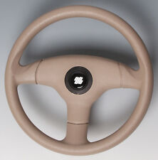 BRAND NEW ULTRAFLEX 350MM ANTIGUE ALL BEIGE BOAT STEERING WHEEL