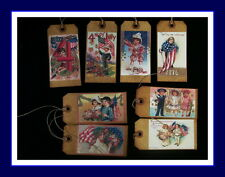 AMERICANA 4TH  OF JULY VINTAGE DESIGN HANG TAGS - NEW