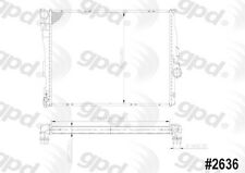 Global Parts Distributors 2636C Radiator