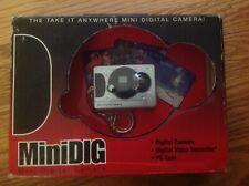 MiniDIG Digital Camera KeyChain - Camera, Digital Video Recorder, PC Cam