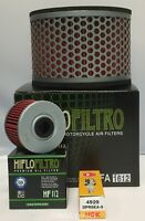 Honda NX650 Dominator Service Kit (Air Filter / Oil Filter and 1 x Spark Plug)