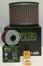 Service Kit Fits HONDA NX650 DOMINATOR (Air Filter / Oil filter / Spark Plug)