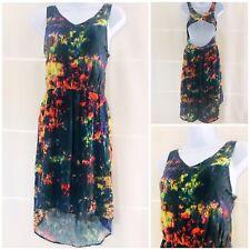 Dress By Zara Trafaluc Size 10 Floaty Festival Hippy Bohemian TieDye Multicolour