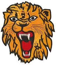 Patch thermocollant écusson brodé patche Lion grande taille Dorsal