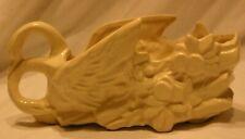 Vintage Ivory Swan Planter/Vase
