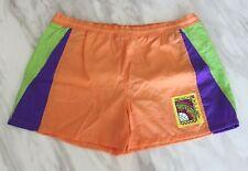 Fila Mens XL Short Vintage Orange Nylon Beach Holiday Pool Sports Retro 40