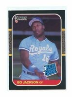 1987 Donruss #35 Bo Jackson Kansas City Royals Rated Rookie Card