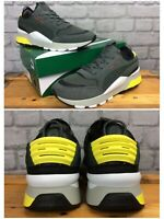 PUMA MENS UK 9 EUR 43 RS-0 WINTER INJ TOYS GREY YELLOW WHITE TRAINERS LG