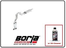 Borla Cat-Back Exhaust S-Type w/SS Cleaner for 10-14 F-150 SVT Raptor # 140383