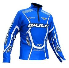 Wulfsport stratos blue trials comp top size small motocross motorbike MX leisure