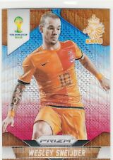 2014 Panini Prizm World Cup Blue and Red #33 Wesley Sneijder Netherlands