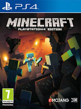 PS4 MINECRAFT BRAND NEW SEALED OFFICIAL PAL
