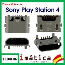 CONECTOR DE CARGA MICRO USB PARA MANDO DE SONY PLAYSTATION 4 PS4 DUALSHOCK