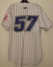 Jose Tabata Signed Autographed GAME WORN Jersey - w/COA Thunder NY Yankees