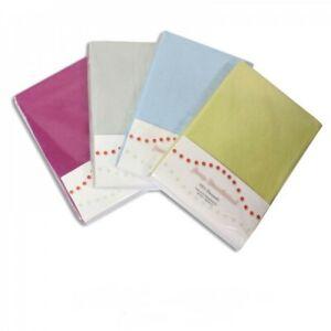 2X Drap Housse 100 x 200 cm Lit Matelas 1 Personne Coton Polyester 10 Couleurs