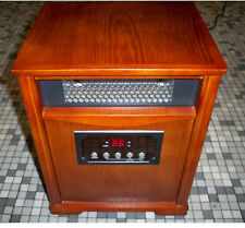 WESTPOINTE ELECTRIC QUARTZ INFRARED HEATER WI-0037 FURNITURE GRADE WOOD 1500W !!