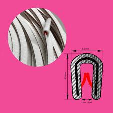 Kantenschutzprofil Farbe weiß für KB0,5-2 mm Kantenschutz Kederband Farbe weiß