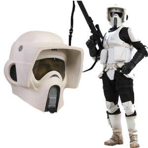Xcoser SW Scout Trooper Mask Full Head Helmet Costume Props Movie Replica ForMen